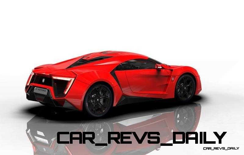 CarRevsDaily Supercars - 2014 W Motors Lykan Hypersport Colors 78