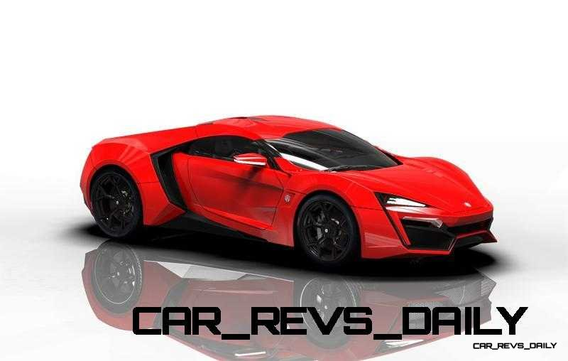 CarRevsDaily Supercars - 2014 W Motors Lykan Hypersport Colors 86