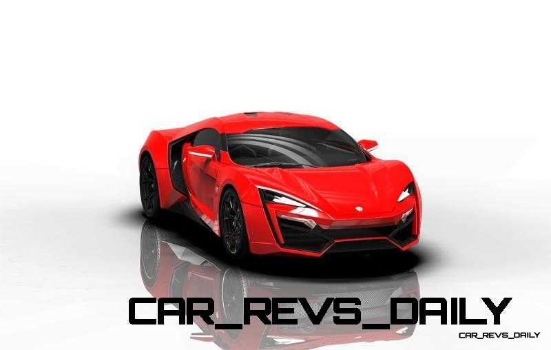 CarRevsDaily Supercars - 2014 W Motors Lykan Hypersport Colors 89
