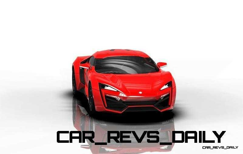 CarRevsDaily Supercars - 2014 W Motors Lykan Hypersport Colors 90