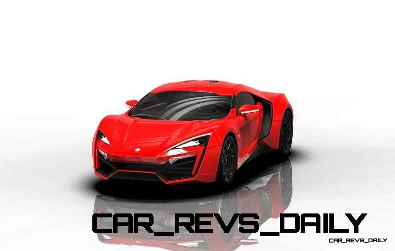 CarRevsDaily Supercars - 2014 W Motors Lykan Hypersport Colors 93
