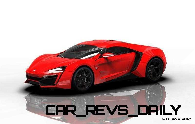 CarRevsDaily Supercars - 2014 W Motors Lykan Hypersport Colors 96