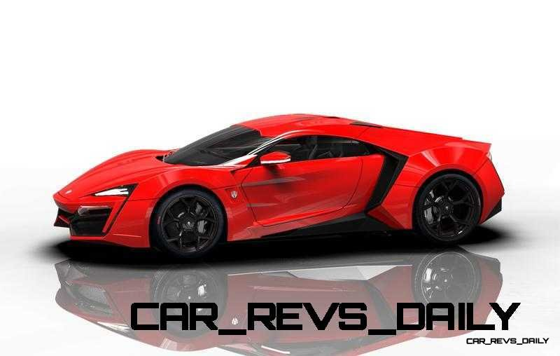 CarRevsDaily Supercars - 2014 W Motors Lykan Hypersport Colors 98