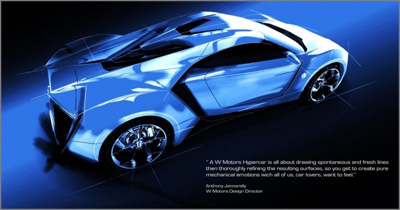 CarRevsDaily Supercars - Best of 2013 - W Motors Lykan HyperSport 1