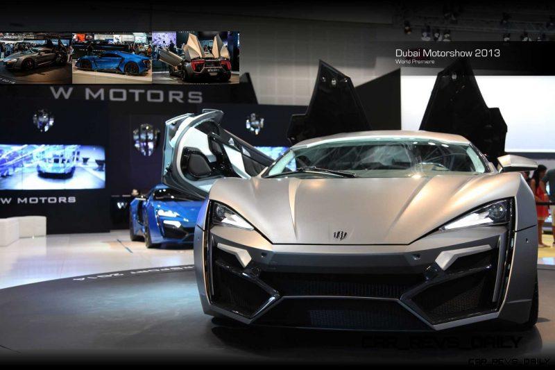 Lykan HyperSport 2014 Dubai Motorshow