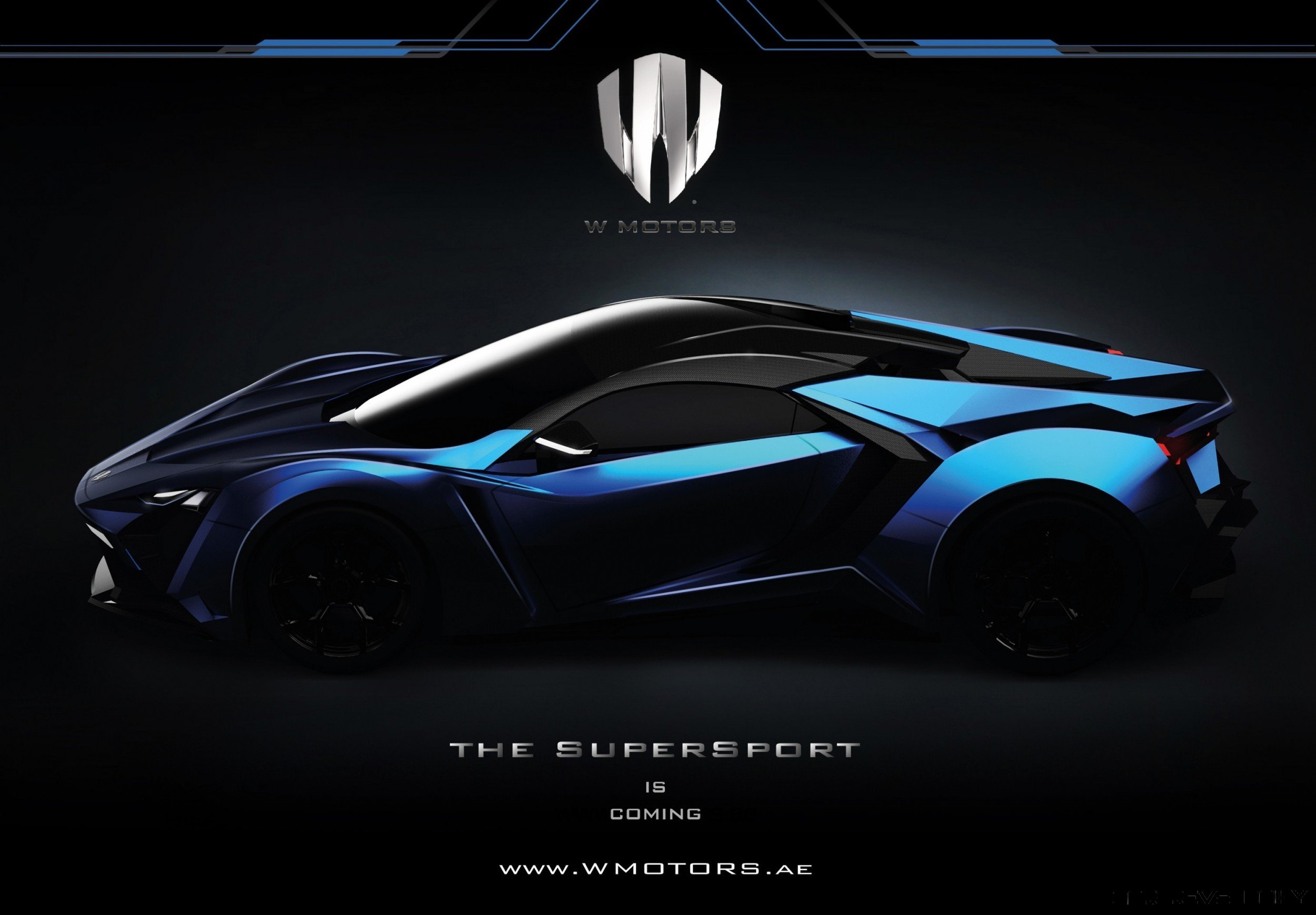 click to open largest resolution image - W Motors Supersport Limited Edition