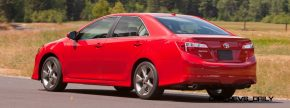 car shopping 2014 5 toyota camry se updates styling with dark rotor wheels. Black Bedroom Furniture Sets. Home Design Ideas