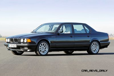 Celebrating the Evolution of the V12 BMW 7-series 26