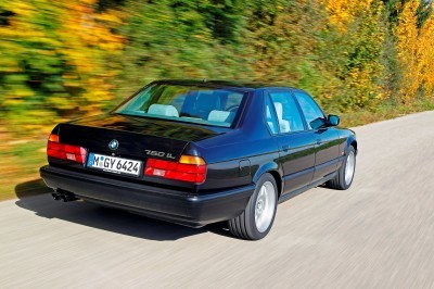 Celebrating the Evolution of the V12 BMW 7-series 34