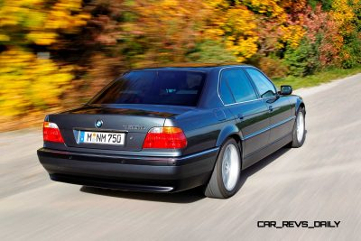 Celebrating the Evolution of the V12 BMW 7-series 45