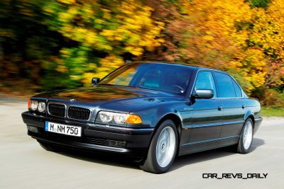 Celebrating the Evolution of the V12 BMW 7-series 46