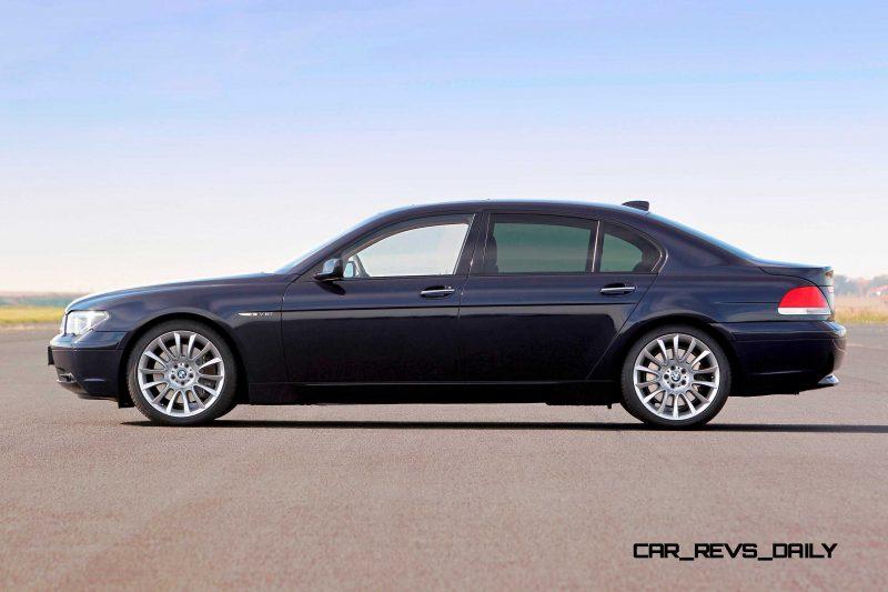 Celebrating the Evolution of the V12 BMW 7-series 50