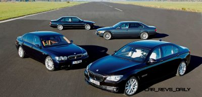 Celebrating the Evolution of the V12 BMW 7-series 70