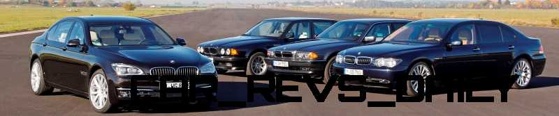 Celebrating the Evolution of the V12 BMW 7-series 71