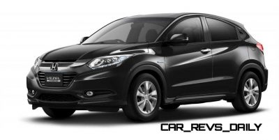 Cool! 2015 Honda Vezel Hybrid Previews Spring 2014 Civic CUV10