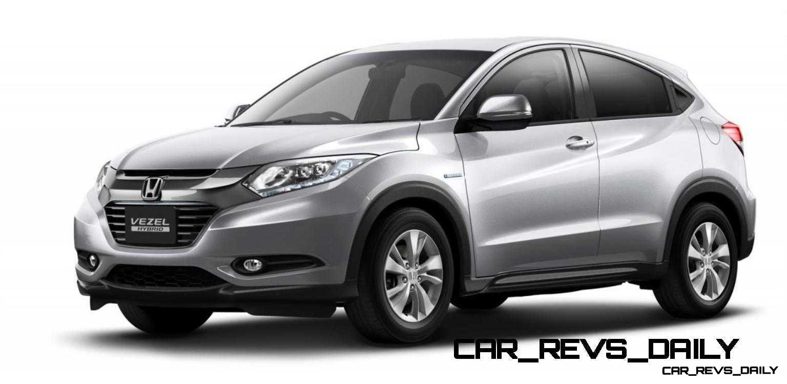 Cool! 2015 Honda Vezel Hybrid Previews Spring 2014 Civic CUV11