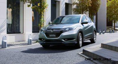 Cool! 2015 Honda Vezel Hybrid Previews Spring 2014 Civic CUV15