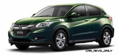 Cool! 2015 Honda Vezel Hybrid Previews Spring 2014 Civic CUV17