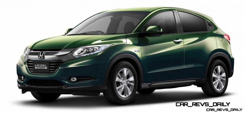Cool! 2015 Honda Vezel Hybrid Previews Spring 2014 Civic CUV17
