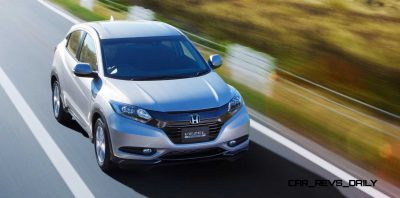 Cool! 2015 Honda Vezel Hybrid Previews Spring 2014 Civic CUV18