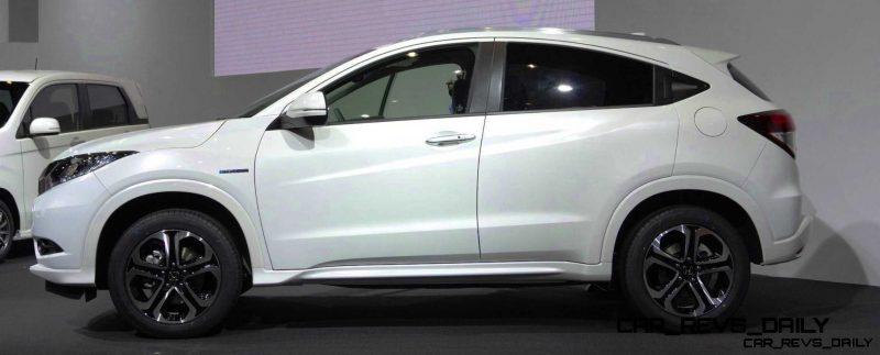 Cool! 2015 Honda Vezel Hybrid Previews Spring 2014 Civic CUV2