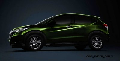 Cool! 2015 Honda Vezel Hybrid Previews Spring 2014 Civic CUV20