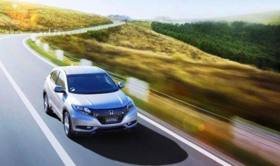 Cool! 2015 Honda Vezel Hybrid Previews Spring 2014 Civic CUV21