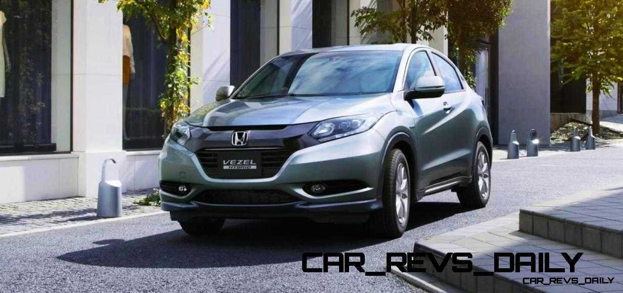 Cool! 2015 Honda Vezel Hybrid Previews Spring 2014 Civic CUV22