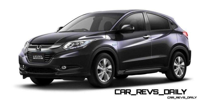 Cool! 2015 Honda Vezel Hybrid Previews Spring 2014 Civic CUV23