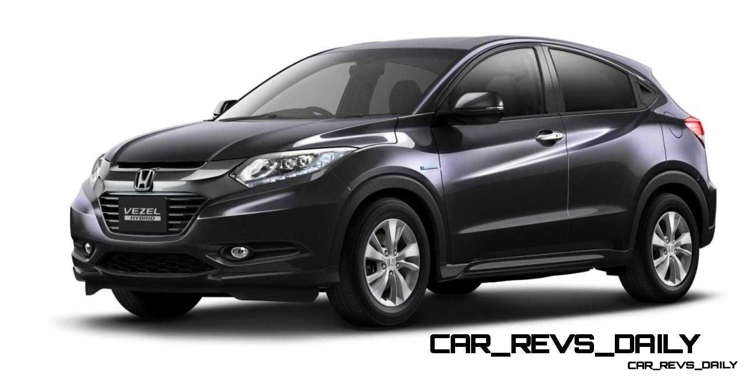 Cool! 2015 Honda Vezel Hybrid Previews Spring 2014 Civic CUV23
