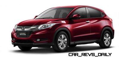Cool! 2015 Honda Vezel Hybrid Previews Spring 2014 Civic CUV25