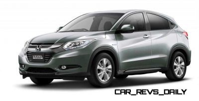 Cool! 2015 Honda Vezel Hybrid Previews Spring 2014 Civic CUV26
