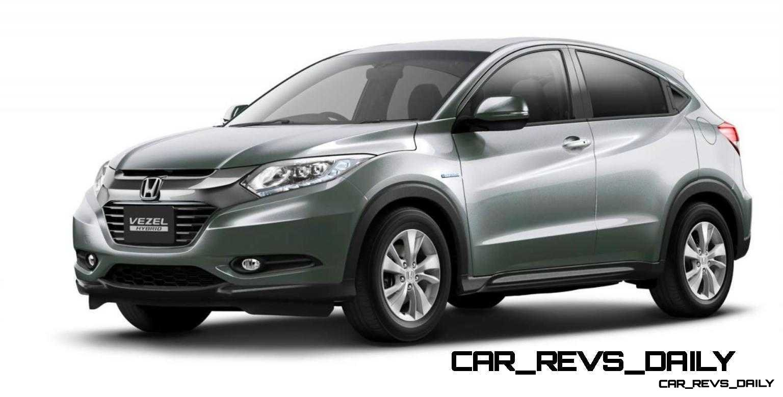 Cool! 2015 Honda Vezel Hybrid Previews Spring 2014 Civic CUV26