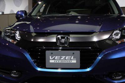 Cool! 2015 Honda Vezel Hybrid Previews Spring 2014 Civic CUV27