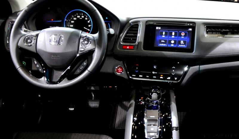 Cool! 2015 Honda Vezel Hybrid Previews Spring 2014 Civic CUV28
