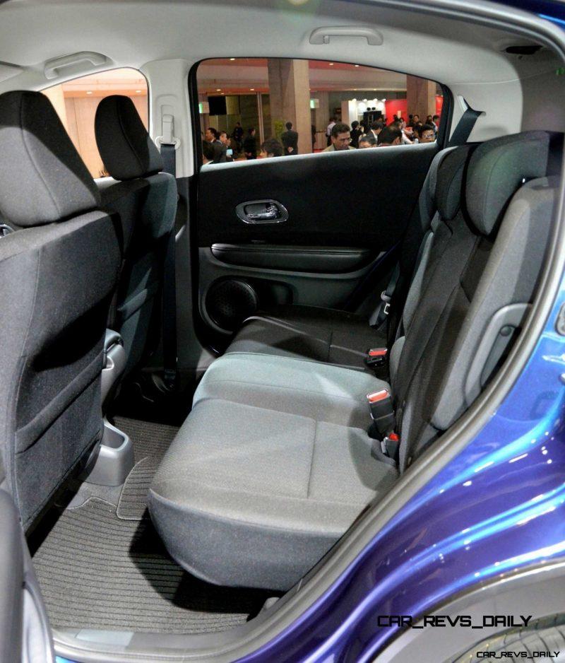 Cool! 2015 Honda Vezel Hybrid Previews Spring 2014 Civic CUV29