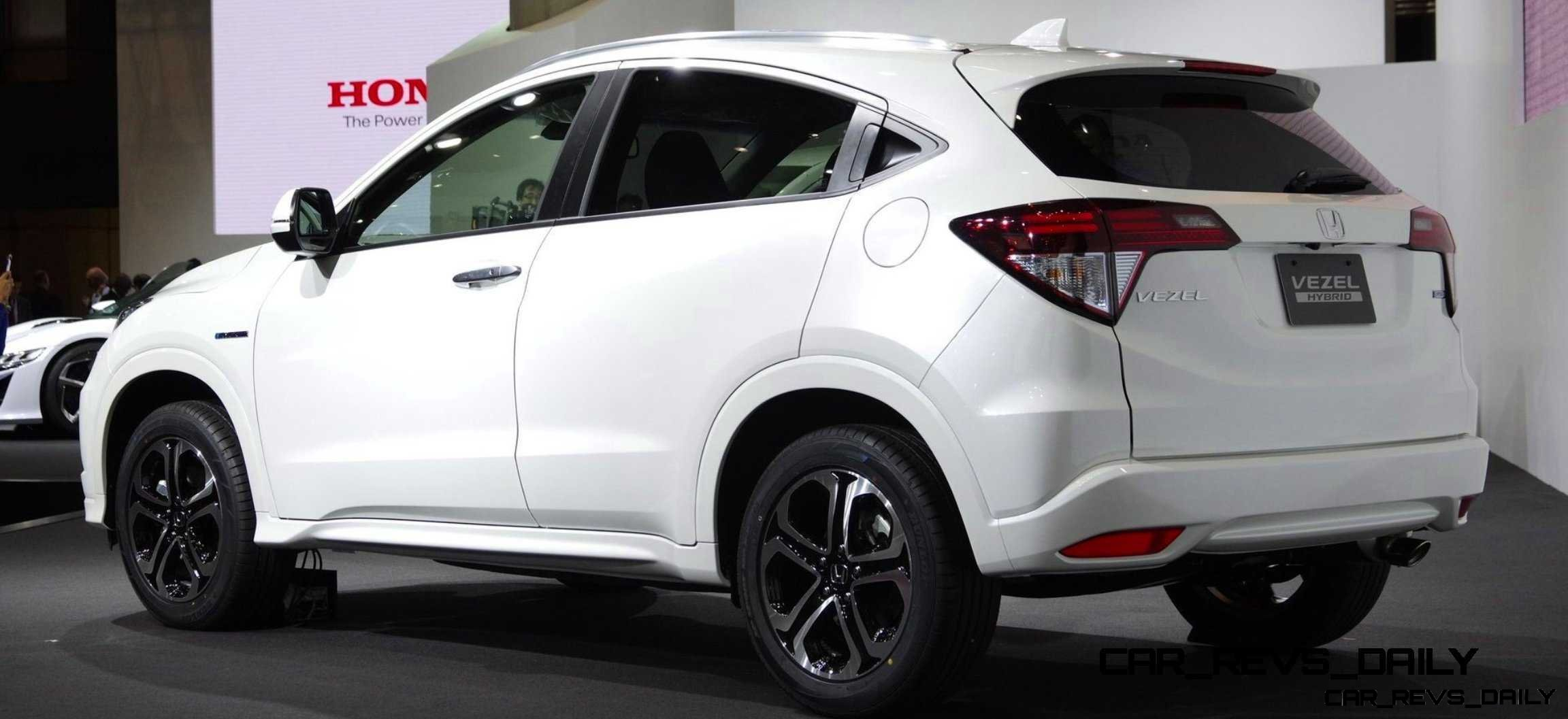Cool! 2015 Honda Vezel Hybrid Previews Spring 2014 Civic CUV3