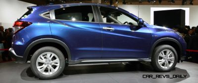 Cool! 2015 Honda Vezel Hybrid Previews Spring 2014 Civic CUV32