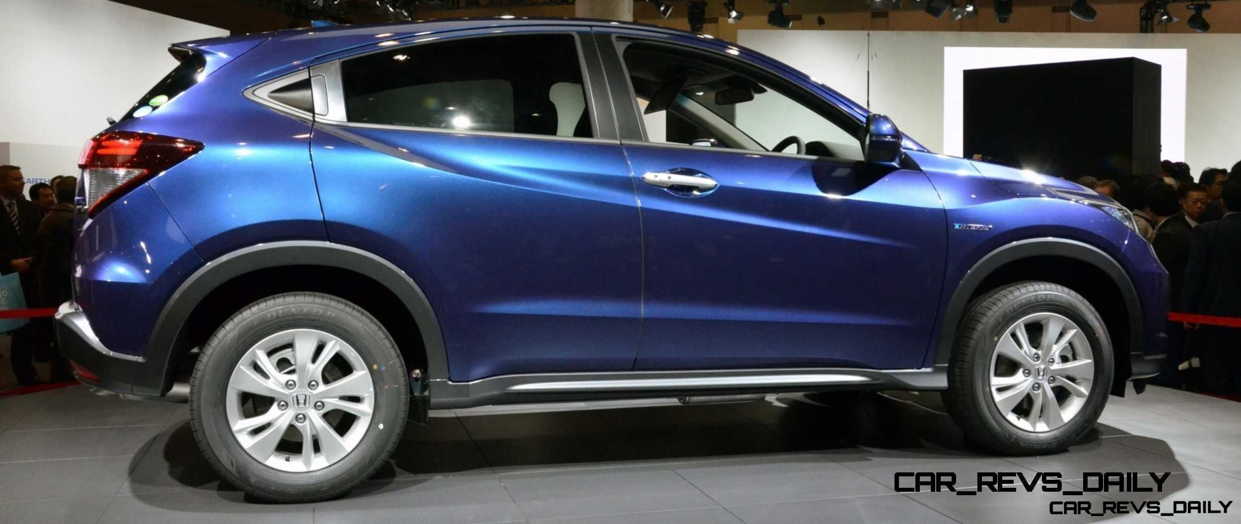 Cool! 2015 Honda Vezel Hybrid Previews Spring 2014 Civic CUV32