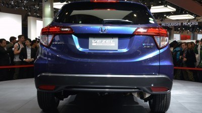 Cool! 2015 Honda Vezel Hybrid Previews Spring 2014 Civic CUV33
