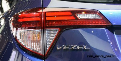 Cool! 2015 Honda Vezel Hybrid Previews Spring 2014 Civic CUV34