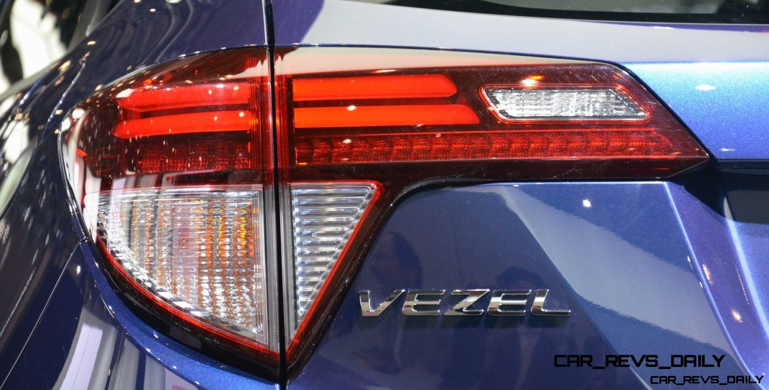 Cool! 2015 Honda Vezel Hybrid Previews Spring 2014 Civic CUV34