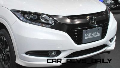 Cool! 2015 Honda Vezel Hybrid Previews Spring 2014 Civic CUV35