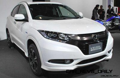 Cool! 2015 Honda Vezel Hybrid Previews Spring 2014 Civic CUV36