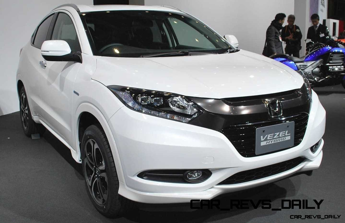 Cool! 2015 Honda Vezel Hybrid Previews Spring 2014 Civic CUV36