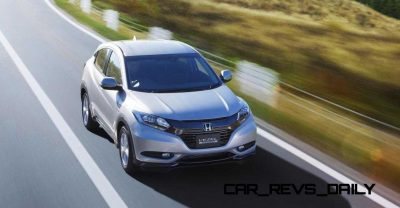 Cool! 2015 Honda Vezel Hybrid Previews Spring 2014 Civic CUV37