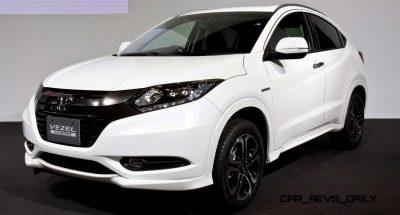 Cool! 2015 Honda Vezel Hybrid Previews Spring 2014 Civic CUV4