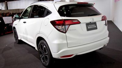 Cool! 2015 Honda Vezel Hybrid Previews Spring 2014 Civic CUV5