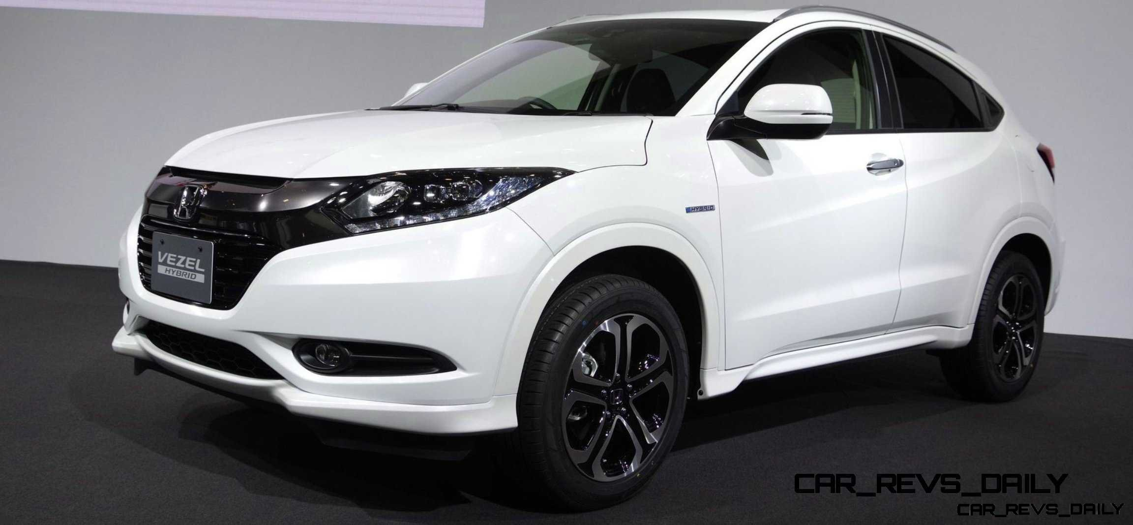 Cool! 2015 Honda Vezel Hybrid Previews Spring 2014 Civic CUV6