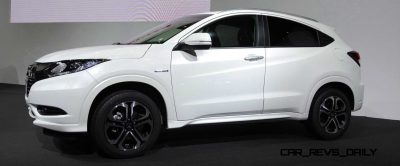 Cool! 2015 Honda Vezel Hybrid Previews Spring 2014 Civic CUV7